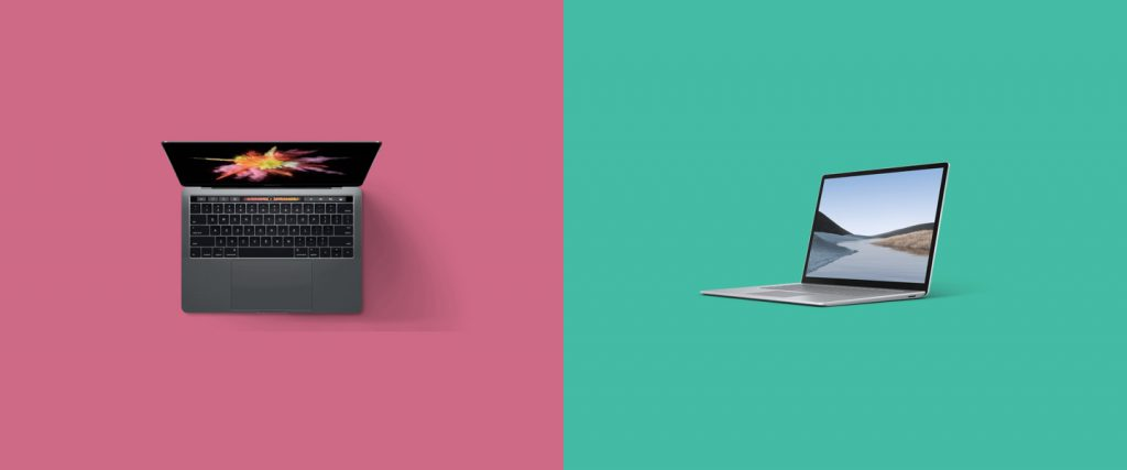 Best laptop for design, Mac and PC