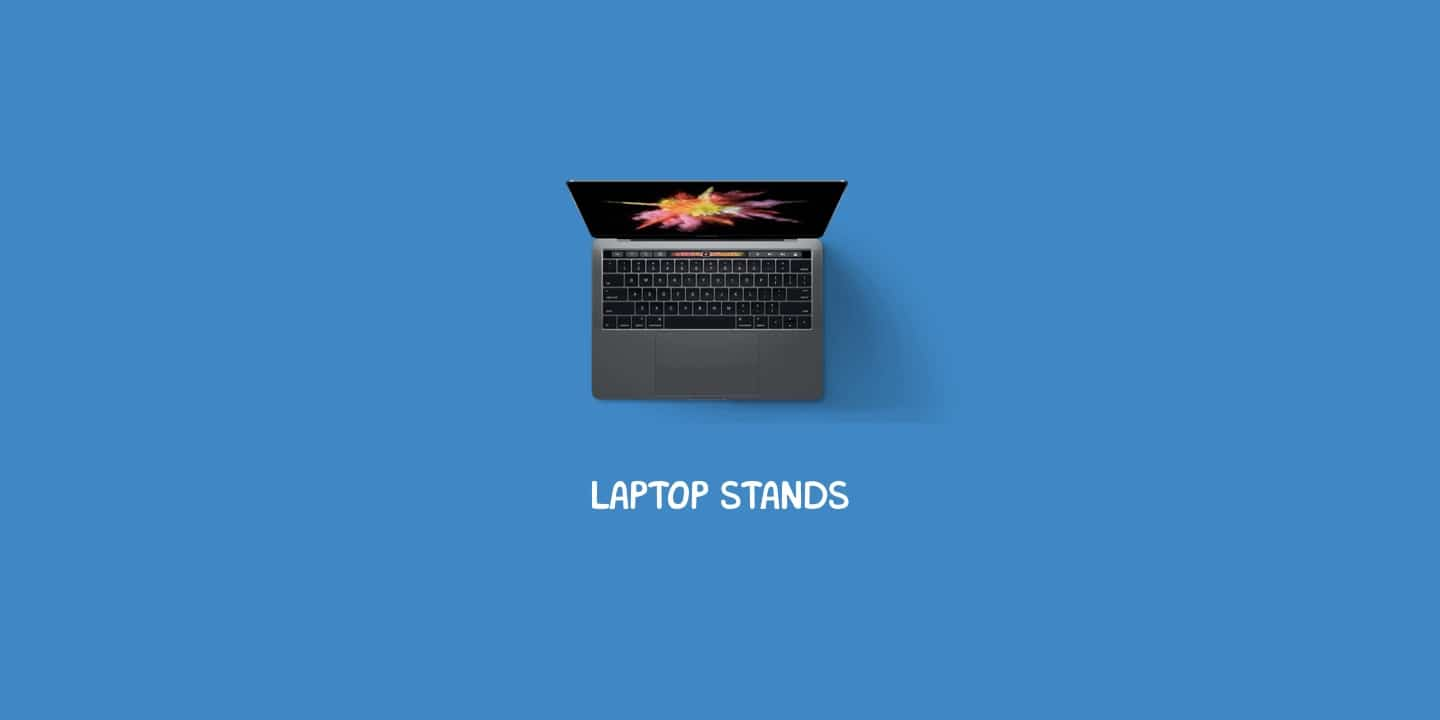 Laptop stand header